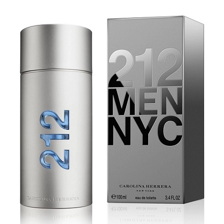 FRAGANCIA PARA CABALLERO 212 MEN NYC CAROLINA HERRERA EDT 100ML