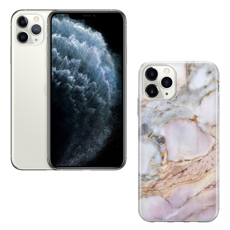 Recover - Funda / Case Recover Marble iphone 11 - Blanco