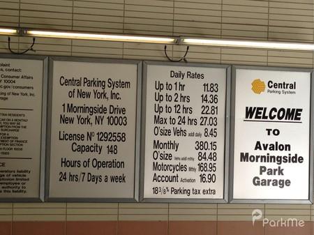 Avalon Morningside Park Garage Parking In New York City