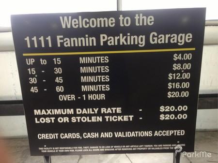 1111 Fannin Parking Garage Parking In Houston Parkme