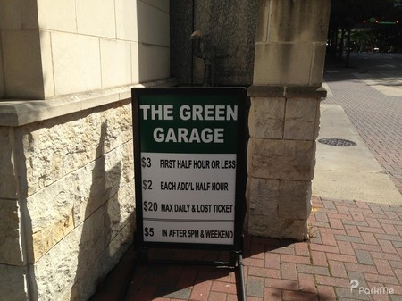 The Green Garage Parking In Charlotte Parkme