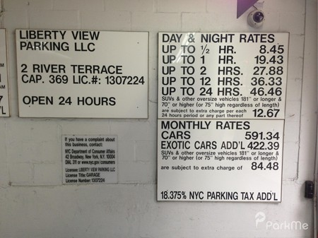 2 river ter new york ny 10282 usa parking in east new for 22 river terrace new york ny