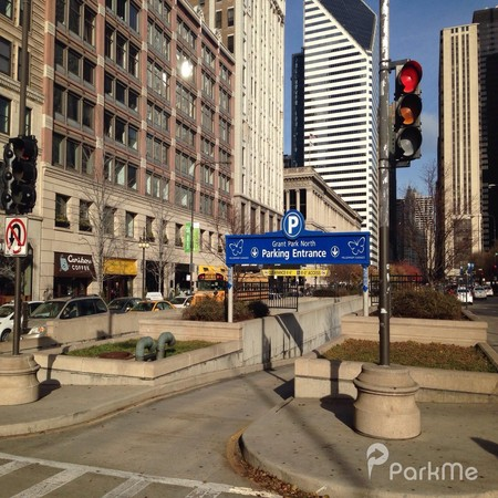Grant Park North Garage Parking In Chicago Parkme