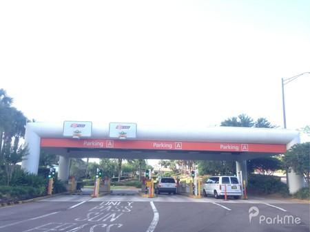 Terminal A Parking Garage Orlando International Airport
