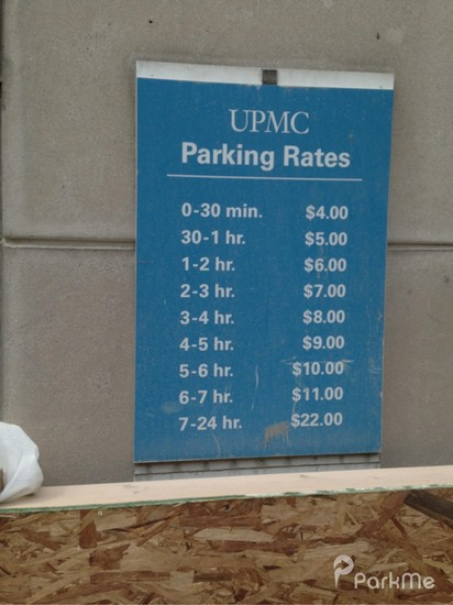 Upmc Presbyterian Garage Parking In Pittsburgh Parkme