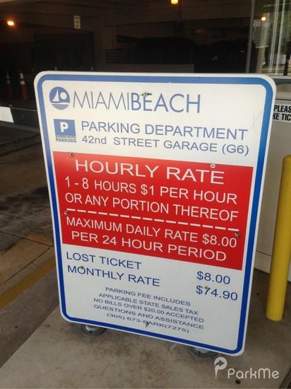 Nd Street Parking Garage Miami Beach