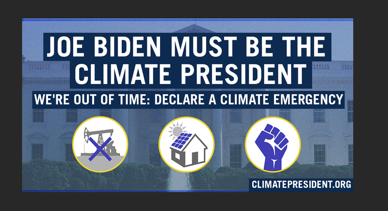 Climate President graphic