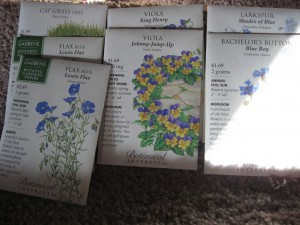 1/11/2012 Spring Seed Packets (1)