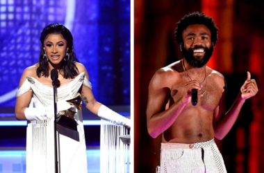 Cardi B and Childish Gambino both took home GRAMMYs