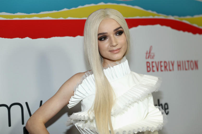 Poppy attends The 8th Annual Streamy Awards at The Beverly Hilton Hotel