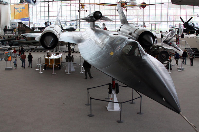 Museum of Flight - A-12 OXCART