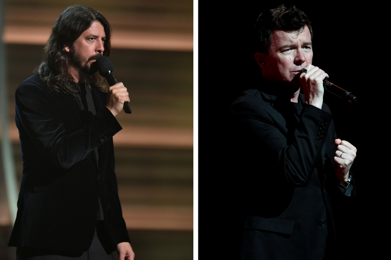Dave Grohl & Rick Astley