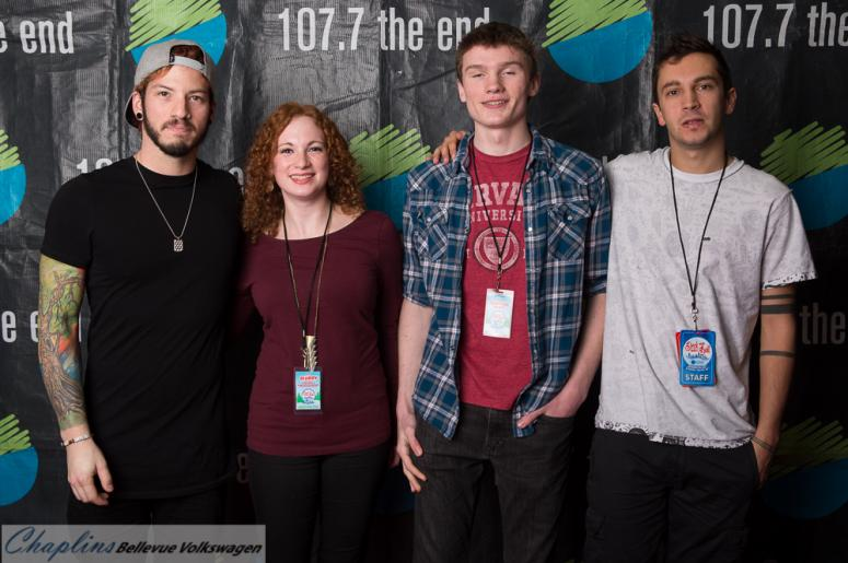 Deck the hall ball 2015 meet and greet 1077 the end with twenty one pilots m4hsunfo