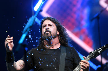 Dave Grohl of the Foo Fighters performs at Coral Sky Amphitheater