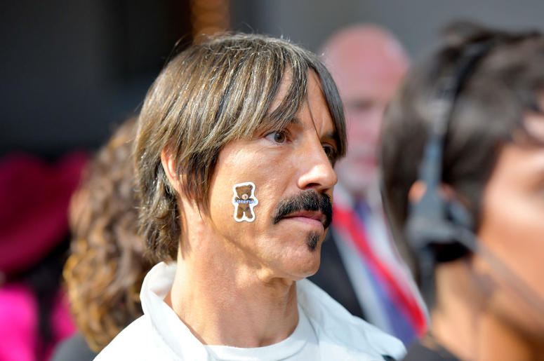 Anthony Kiedis attend New York Fashion Week