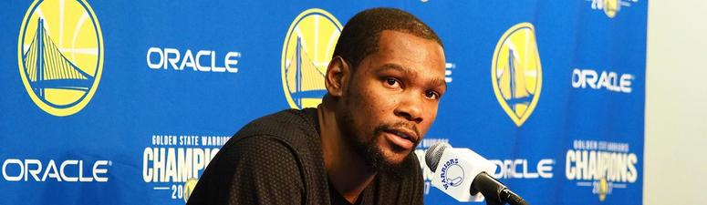 'Nobody gives a sh-- if you're a fan' — Durant crushes radio host who called out Zaza