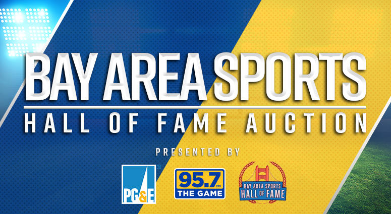 Don't miss the 2018 Bay Area Sports Hall of Fame Auction!