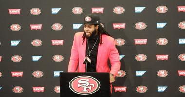 Sherman explains why he joined the 49ers, when he'll return to the field
