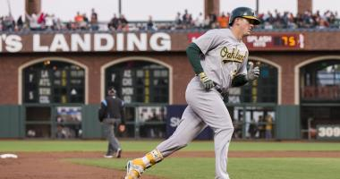 A's score underwhelming return for powerful but positionless Healy