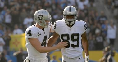 Carr says Cooper played last season 'on one foot'