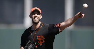 Madbum suffers a broken hand after being hit by a line drive