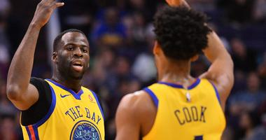Cook, Green lead depleted Warriors past Suns