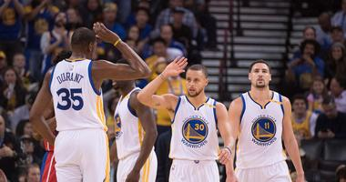 Bob Myers offers return timelines for Steph, KD and Klay