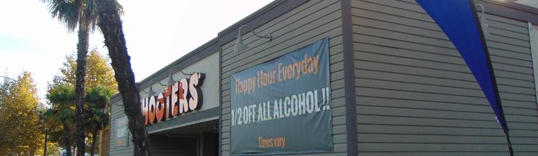 Raiders vs 49ers Watch Party: Hooters in Campbell