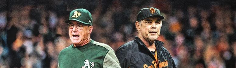 Bob Melvin and Bruce Bochy call in back-to-back on 95.7 The Game