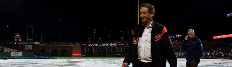 VIDEO: TMZ Sports video shows physical confrontation between Larry Baer and wife, Pam