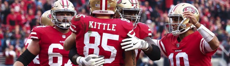 George Kittle talks return of Jimmy G, recruitment of Antonio Brown