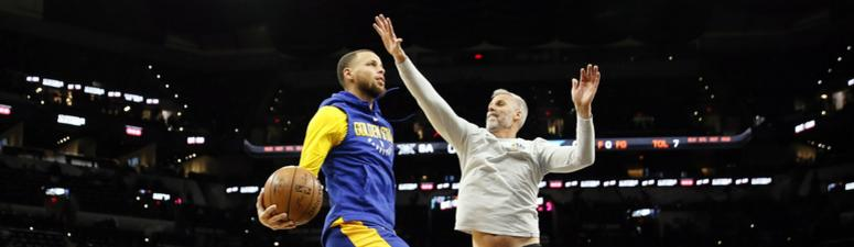 Curry set to rejoin 'modified' practice, will be re-evaluated again in a week