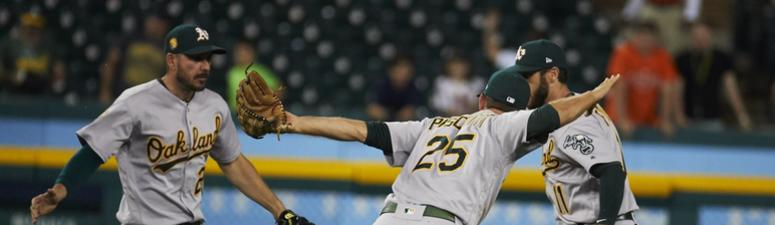 Melvin talks epic rally, recent hot streak, plus the A's resilience