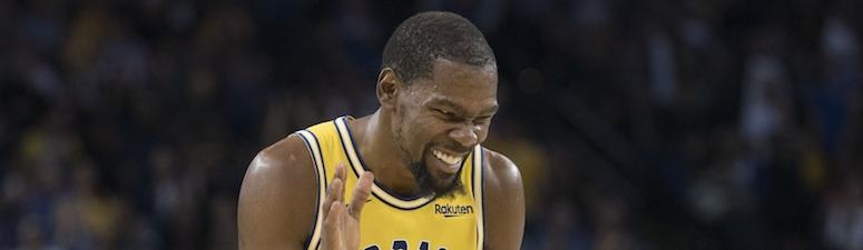 Anonymous Warrior says there's 'no way' Kevin Durant returns next year