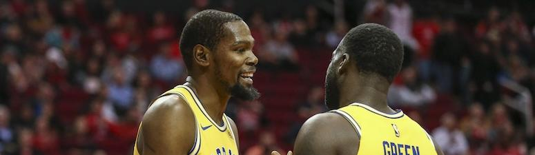Report: KD 'has shown no interest in wanting to be traded' amid Warriors' turmoil