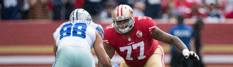 Report: 49ers to send Trent Brown and draft pick to Patriots
