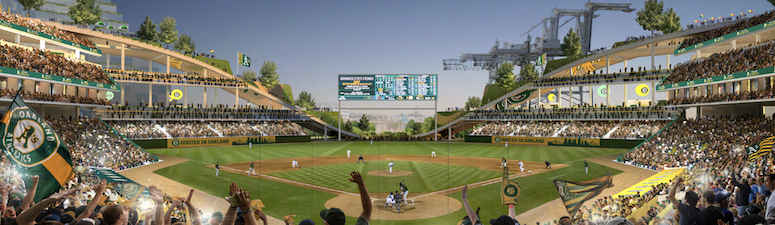 What do MLB players think of the Athletics Potential New Park?
