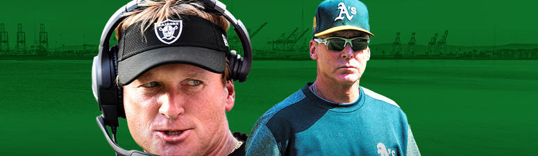 'I love the A's, I love Oakland' — Jon Gruden backs the green and gold
