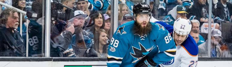 THIS JUST IN: Brent Burns is the NHL's top defenseman