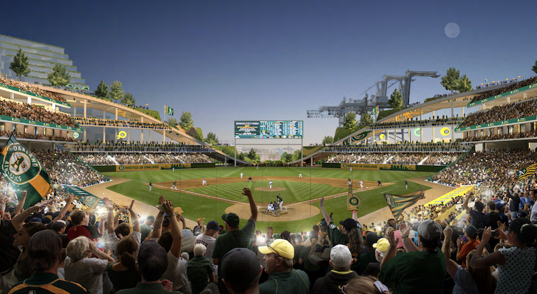 A's announce plan for new stadium, changes to Coliseum