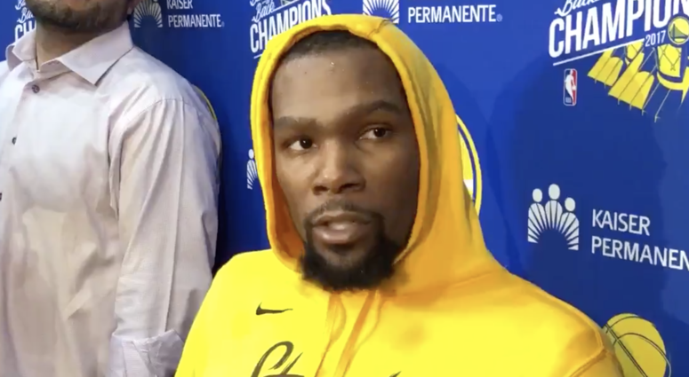 'I'm Kevin Durant. You know who I am' — KD sounds like a man ready to put a 40-piece on Patrick Beverley and the Clippers