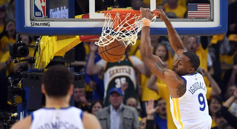 Iguodala upgraded to questionable after X-rays, MRI come back clean