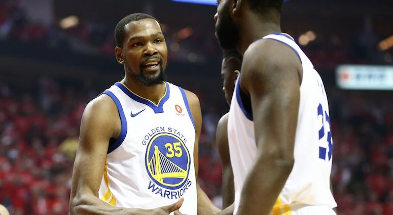 Report: Draymond Green earned 1-game ban for daring Kevin Durant to leave the Warriors