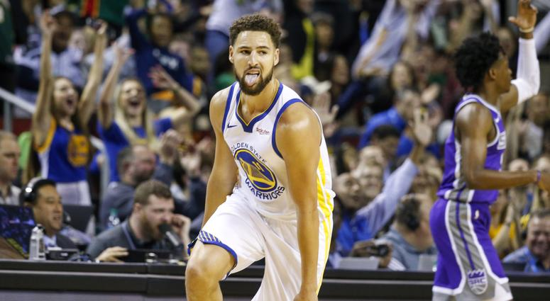 Report: Klay will be the College GameDay guest picker on Saturday at Washington St.