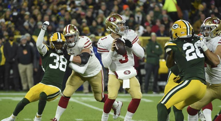 Jerry Rice calls into 'Joe, Lo & Dibs' unannounced after 49ers Monday Night Football clash with Packers