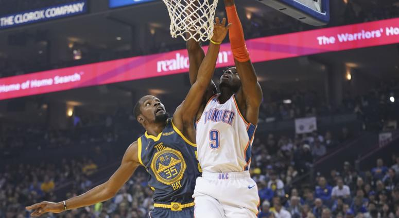Warriors to be without Stephen Curry, Draymond Green against Thunder