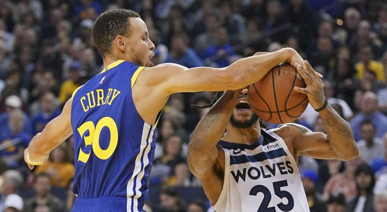 Steph leads Warriors to 4th straight win, beat Timberwolves 116-108