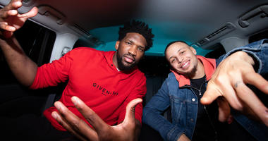 VIDEO: Steph takes Joel Embiid to International Smoke in latest episode of '5 Minutes from Home'