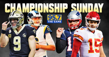95.7 The Game is your home for Championship Sunday