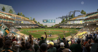 A's announce plan to build new park at Howard Terminal, redevelop Coliseum site